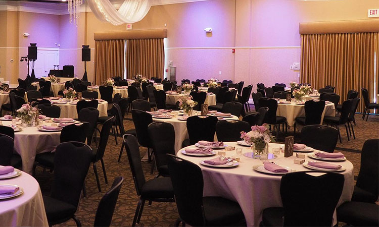 Grand Ballroom Aladdin Shrine Center Grove City Ohio