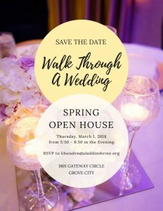 Wedding venue open house